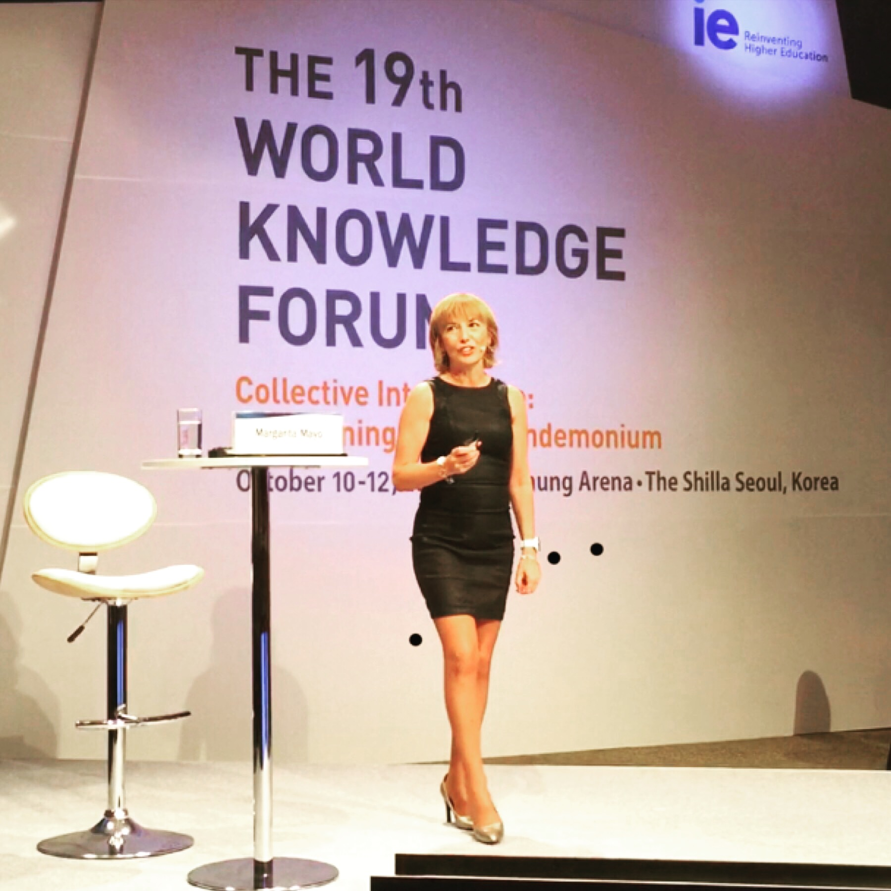 Leaders at World Knowledge Forum, Seoul